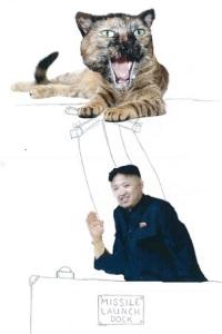 evil cats, end of the world, Kim Jong-Un